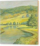 Spring Trail Wood Print