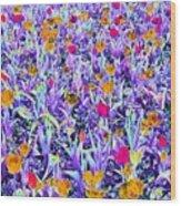 Spring Tulips - Photopower 3124 Wood Print