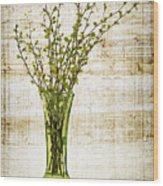 Spring Vase Wood Print