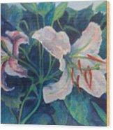 Spring Vegitation Wood Print