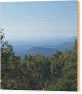 Springer Mountain Georgia Wood Print