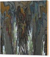 Springeruption Wood Print