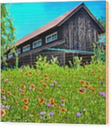 Spring's Blessings Wood Print