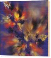 Springtime Explosion Of Life. Wood Print