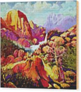 Springtime In The Southwest  Wood Print