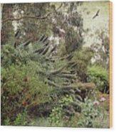 Springtime Spires Wood Print