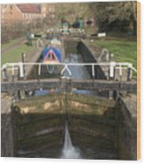 Springwell Lock Rickmansworth Wood Print