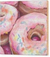 Sprinkles Wood Print by Melissa J Szymanski