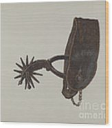 Spur Wood Print