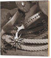 Spurs #1 Wood Print