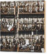 Spurs Wood Print