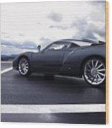 Spyker C12 Zagato Wood Print