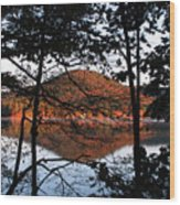 Squam Lake 1 Wood Print