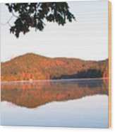 Squam Lake 2 Wood Print