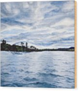 Squam Lake Wood Print