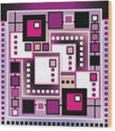 Square Wood Print