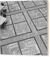 Squared Wood Print