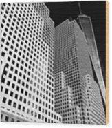 Squared, New York City Wood Print