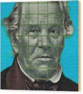 Squared Senator Detail Wood Print
