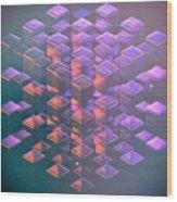 Squared2 Wood Print