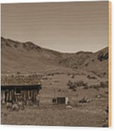 Squaw Butte Homestead Wood Print