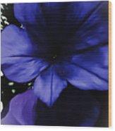 Squish Blossom Wood Print