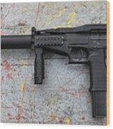 Sr-2mp Submachine Gun Wood Print