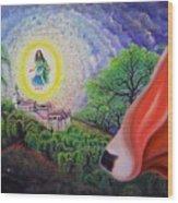 Sri Barsana Vali Wood Print