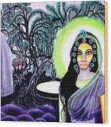Sri Maan Nagari Wood Print