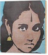 Sri Mata Wood Print