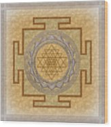 Sri Yantra Wood Print