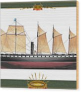 Ss Great Britain Wood Print