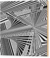Ssenkcalbot Wood Print
