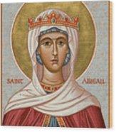 St. Abigail - Jcabi Wood Print