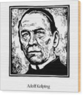 St. Adolf Kolping - Jladk Wood Print