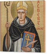 St. Albert The Great - Jcatg Wood Print