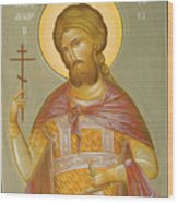St Alexander Nevsky Wood Print by Julia Bridget Hayes
