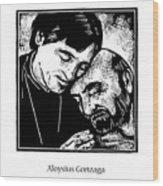 St. Aloysius Gonzaga - Jlalg Wood Print