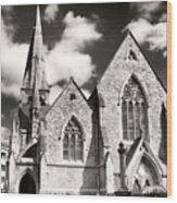 St. Andrew Wood Print