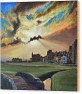 St Andrews Wood Print
