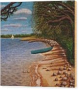 St Andrews State Park Panama City Florida Wood Print