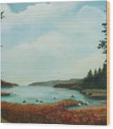 St Annes Bay Nova Scotia Wood Print