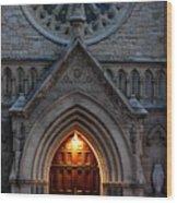 St Annes Church Wood Print