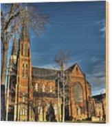 St. Annes Detroit Mi Wood Print