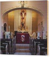 St. Ann's Church Of Tubac Arizona Wood Print