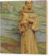 St Anthony Chapel Wood Print