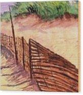 St. Augustine Beach Wood Print