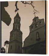 St. Augustine Chapel Wood Print