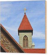 St. Augustine Detail 090118 Wood Print