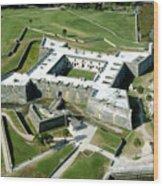 St Augustine Fort - Castillo De San Marcos Wood Print